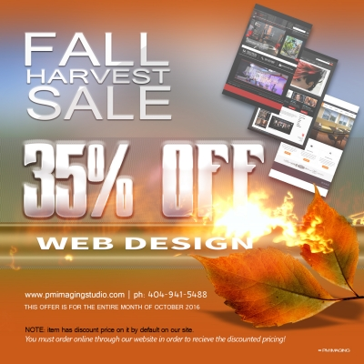 October Fall Harvest Sale