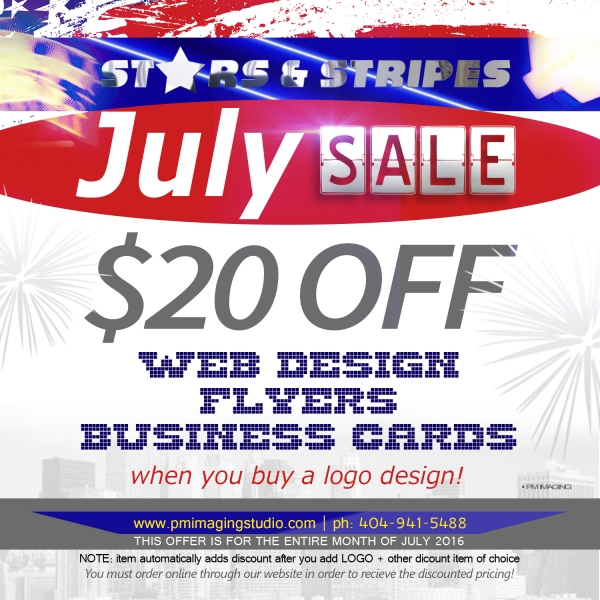 July Stars & Stripes Sale